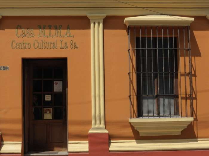 Casa Mima cultural centre in Guatemala City