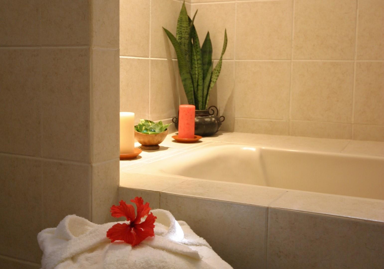 Bathroom at Hacienda Chichen Itza