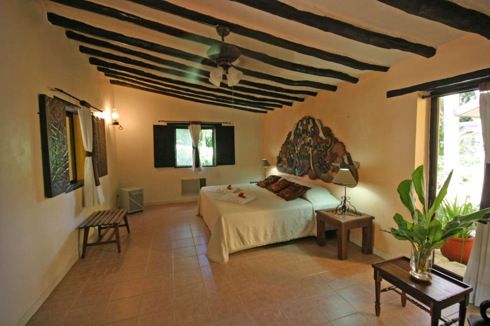 Double room at Hacienda Chichen Itza