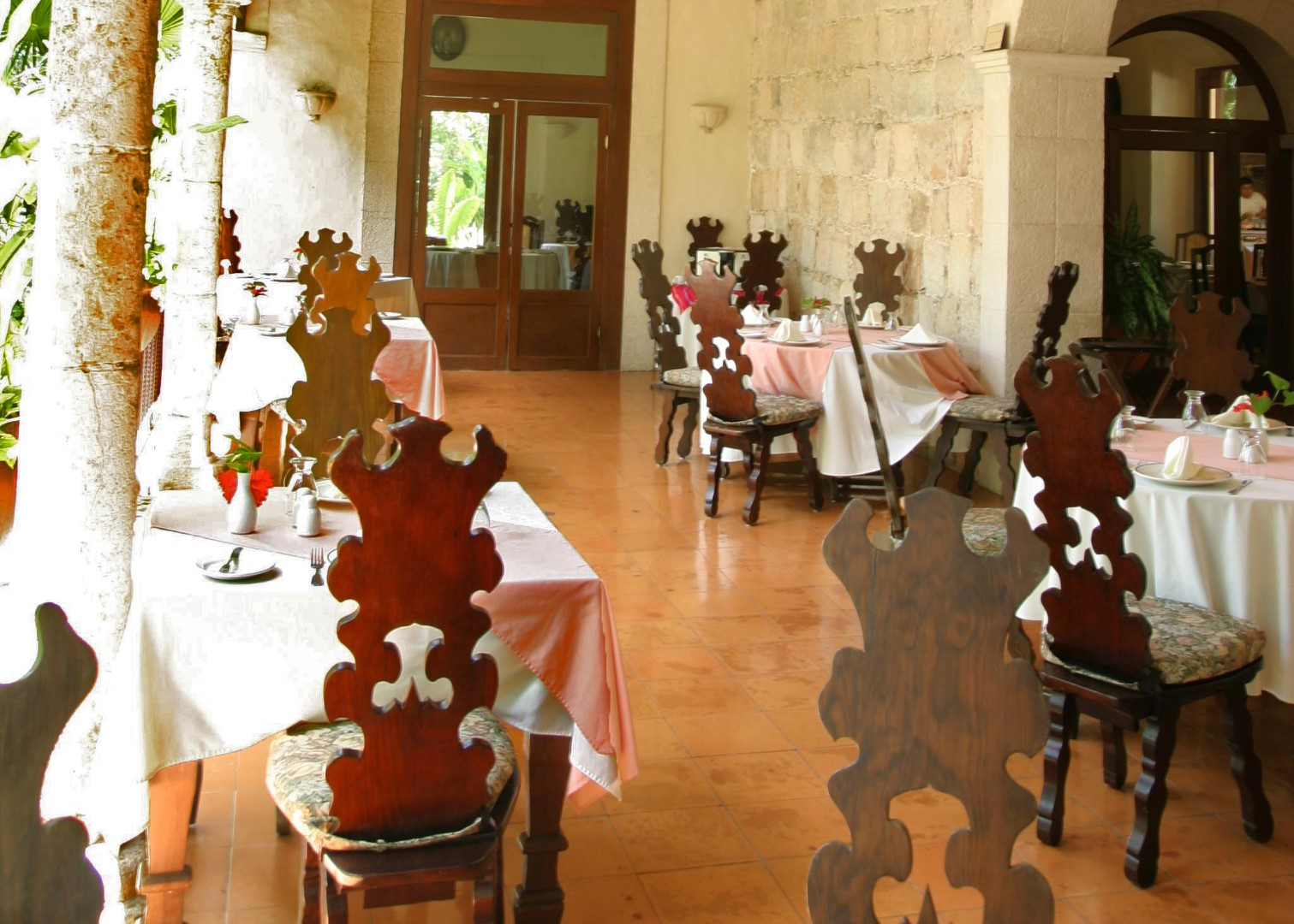 Restaurant at Hacienda Chichen Itza
