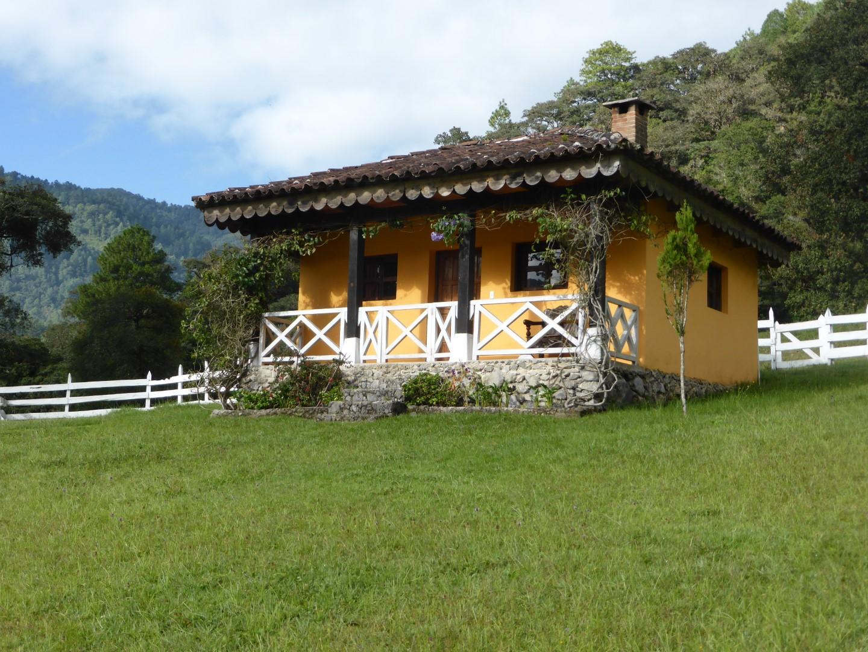Bungalow at Hacienda Mil Amores in Ixil Triangle, Guatemala