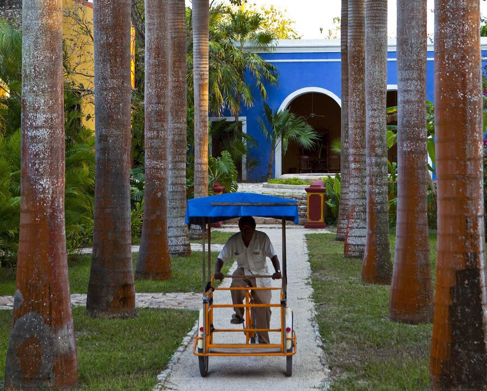 Rickshaw at Hacienda San Jose