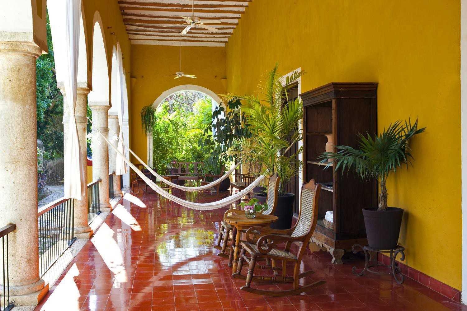 Terrace at Hacienda San Jose