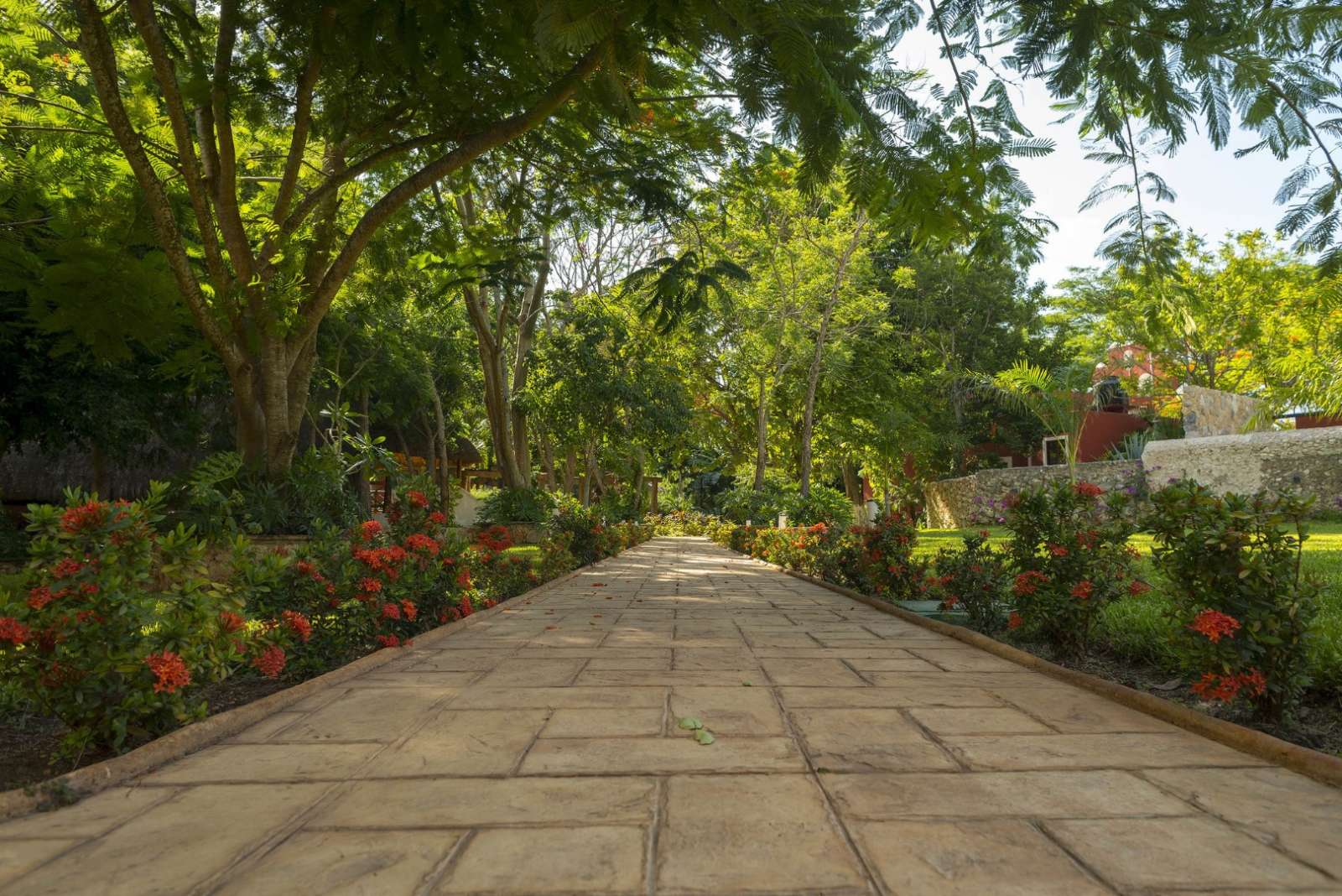 Pathway at Hacienda Santa Cruz