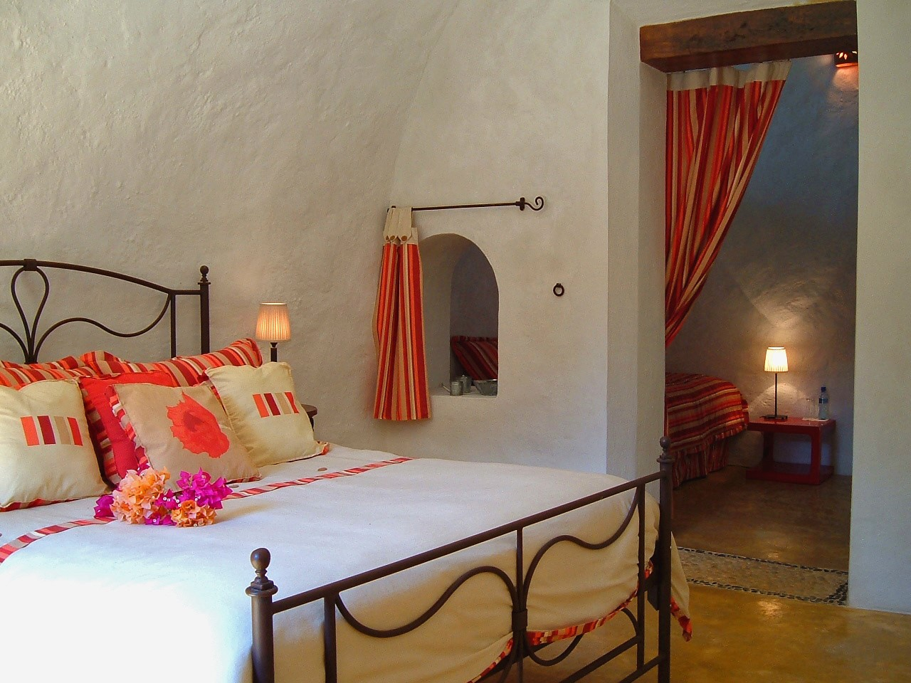 Room at Hacienda Santa Cruz