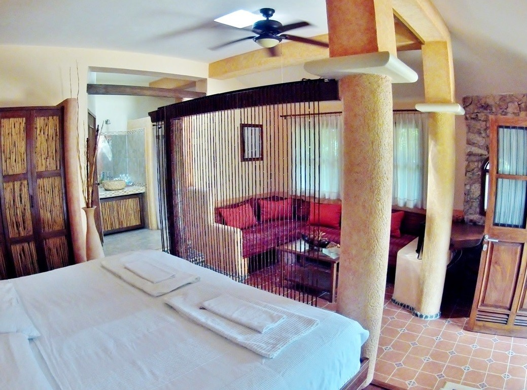 Junior Suite at Dining area of Hacienda Santo Domingo in Izamal