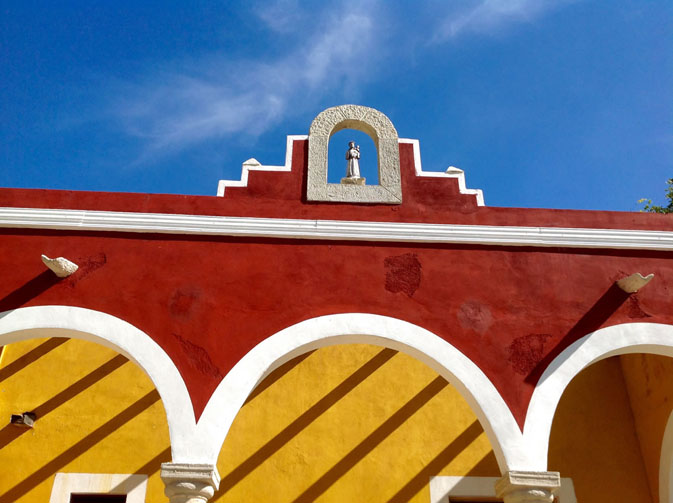 Arches at Hacienda Ticum near Izamal
