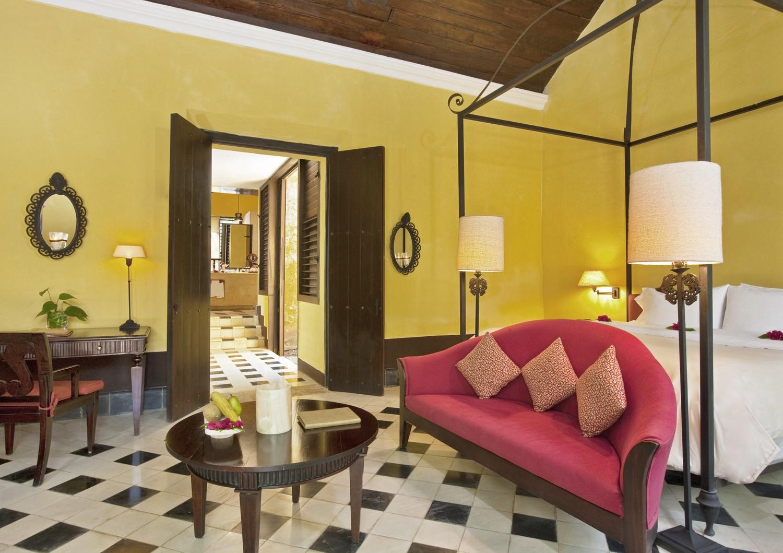 Bedroom at Hacienda Uayamon Campeche