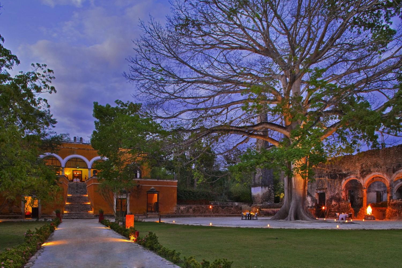 Evening at Hacienda Uayamon Campeche