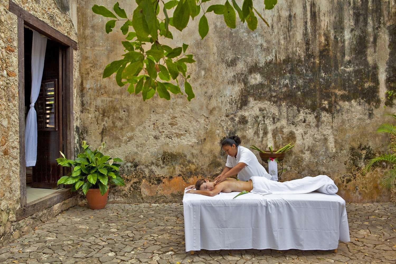 Massage at Hacienda Uayamon Campeche