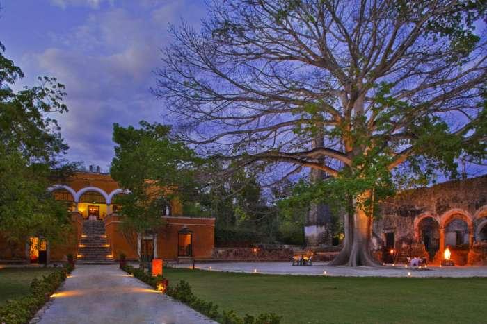 Hacienda Uayamon in Campeche, Mexico