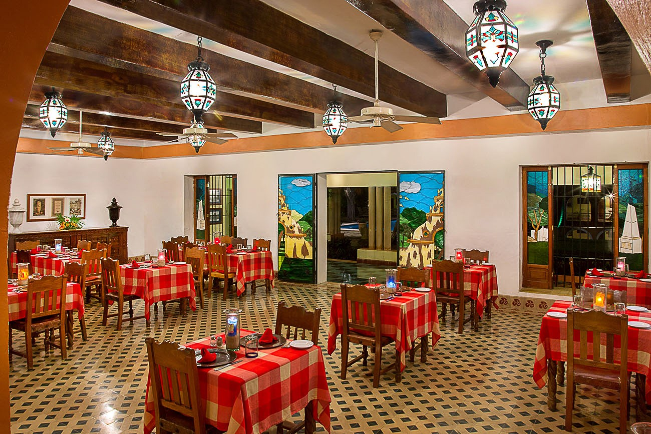 Restaurant at Hacienda Uxmal