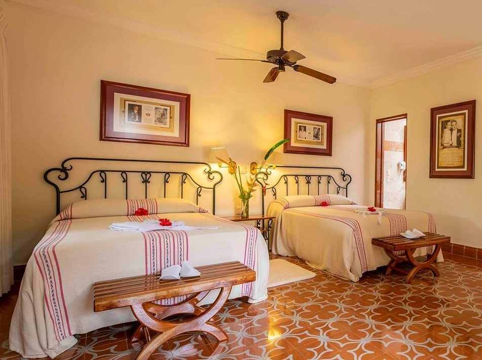 Room at Hacienda Uxmal