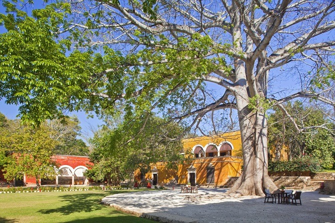 The Hacienda Uayamon in the Yucatan Peninsula