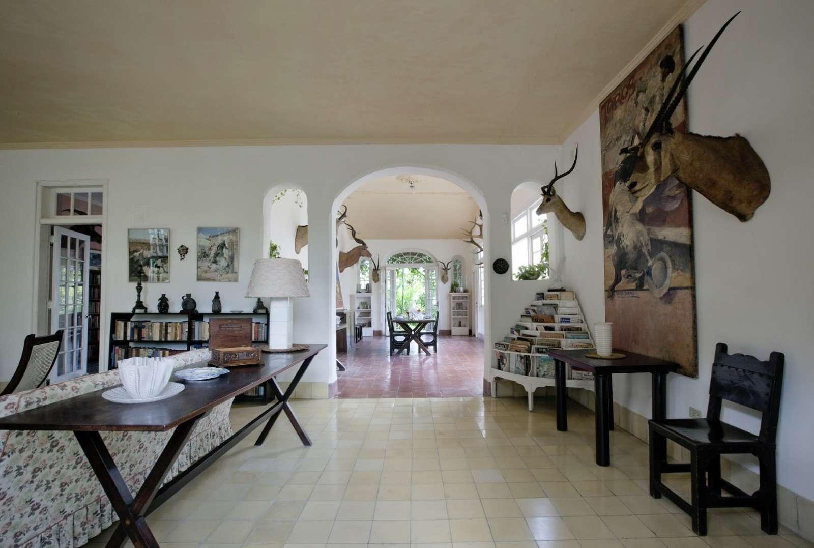 Finca Vigia was Ernest Hemingway's old home in Havana