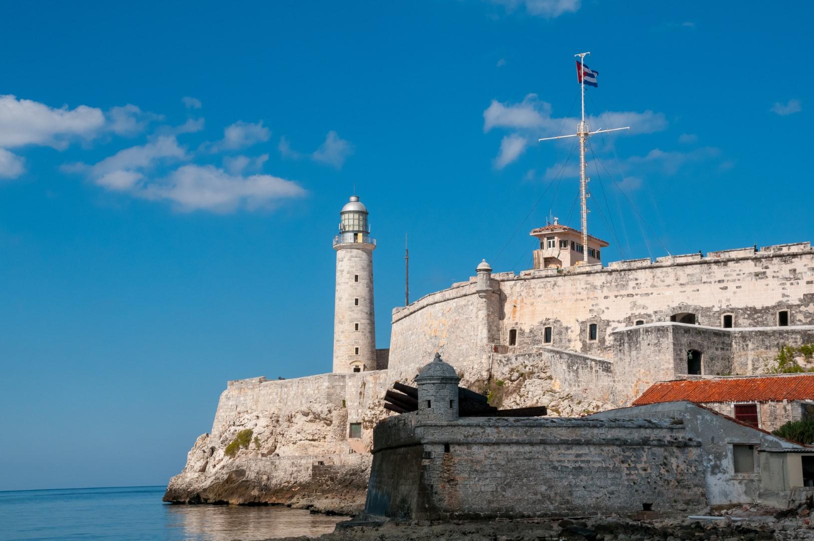 Morro Castle in Havana, Cuba