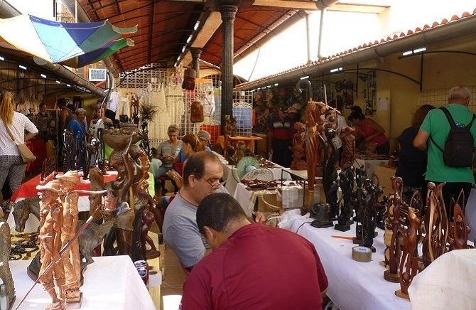 Havana Craft Market just off Calle Obispo