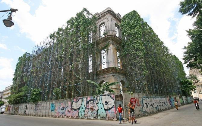 Havana building site