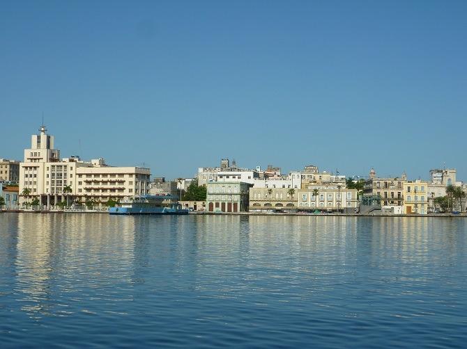 Havana waterfront in Cuba