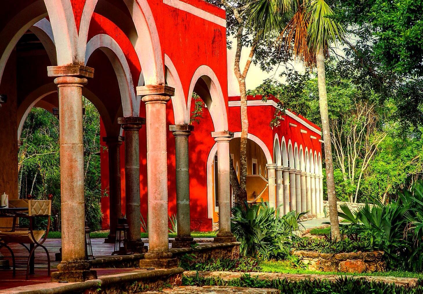 Hcienda Ticum Izamal Architecture
