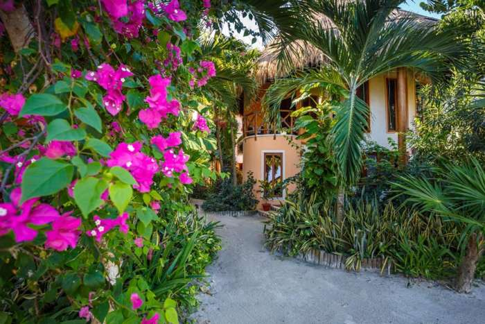 Accommodation on Holbox