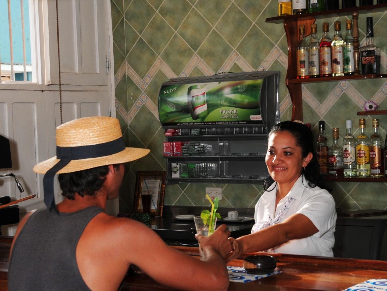 Bar at Hostal 1511