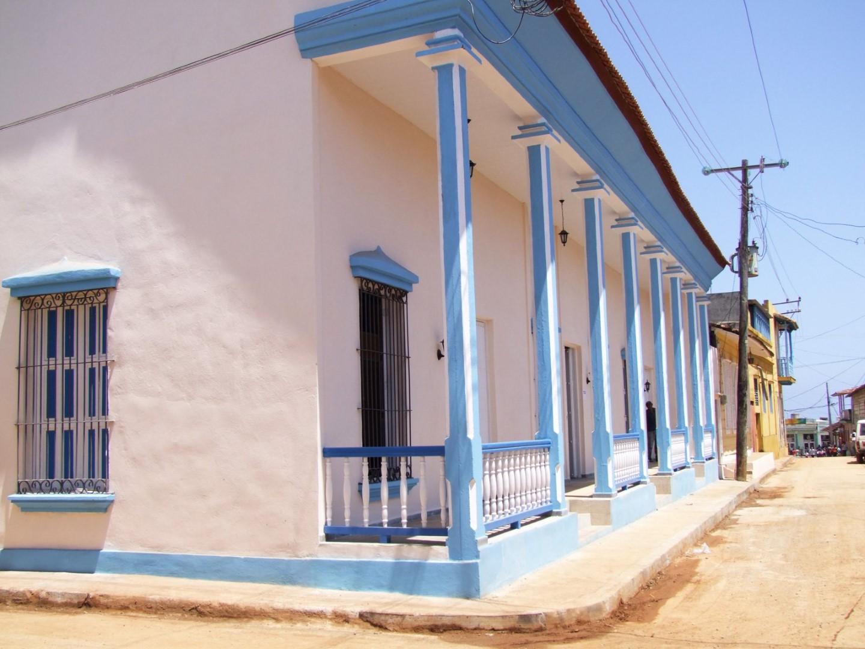 Street view of Hostal 1511
