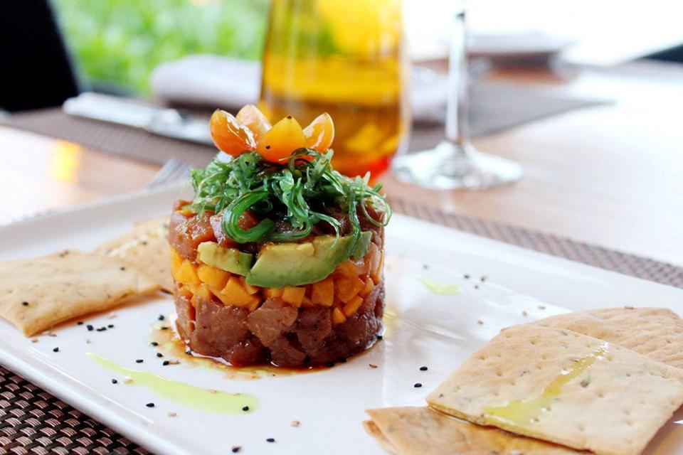 Ceviche at Hotel Akumal Caribe