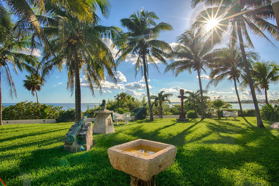 Gardens at Hotel Akumal Caribe
