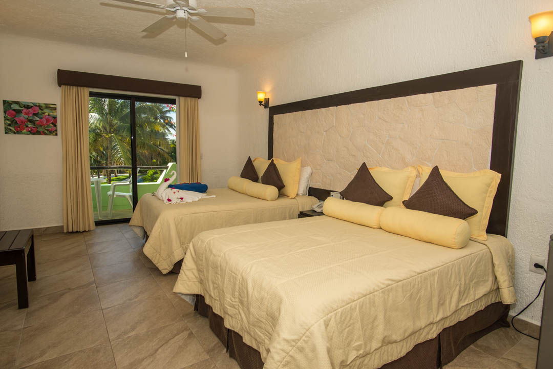 Room at Hotel Akumal Caribe