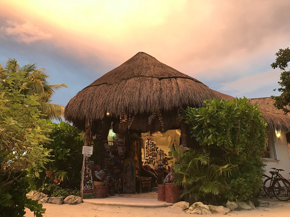Shop exterior at Hotel Akumal Caribe