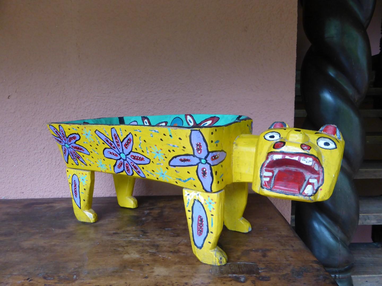 Artwork at Hotel Atitlan