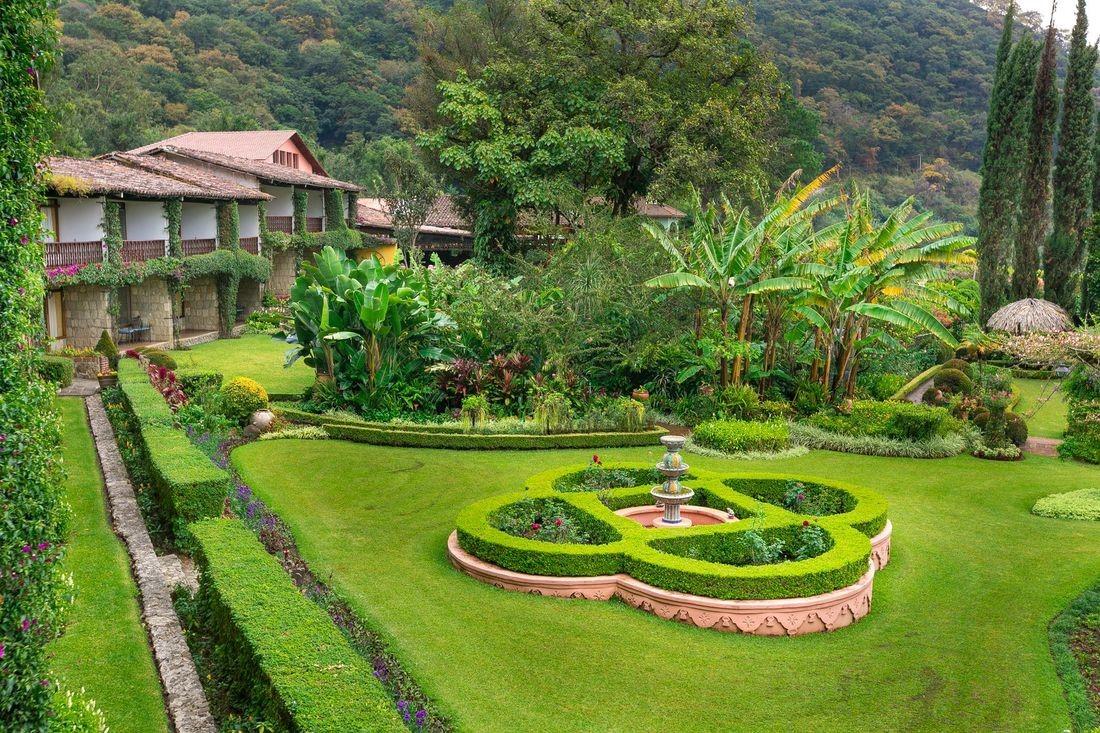 Gardens at Hotel Atitlan