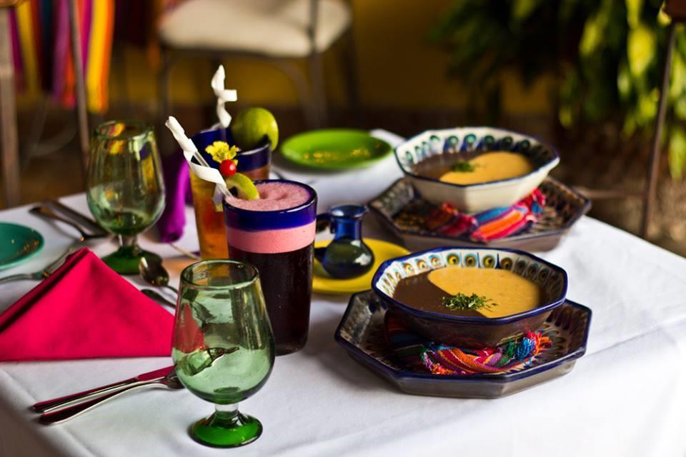 Meal at Hotel Atitlan