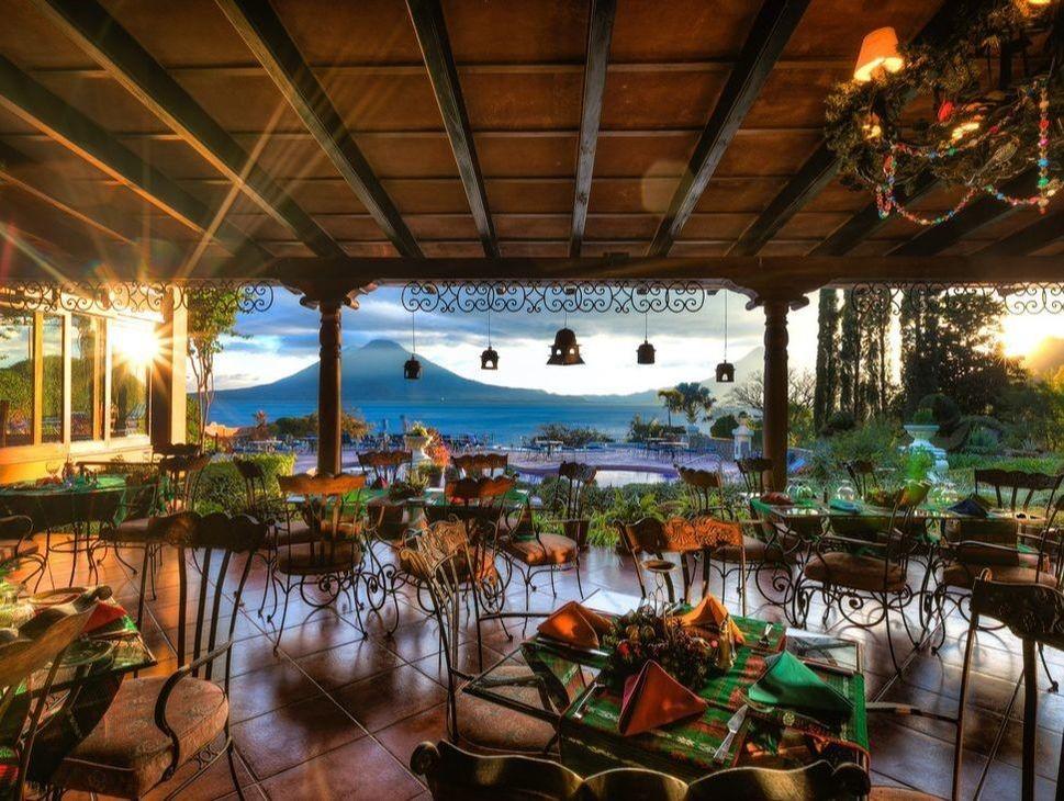 Restaurant at Hotel Atitlan