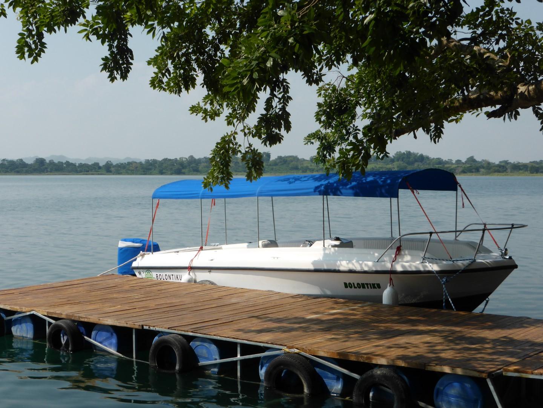Ferry boat at Hotel Bolontiku