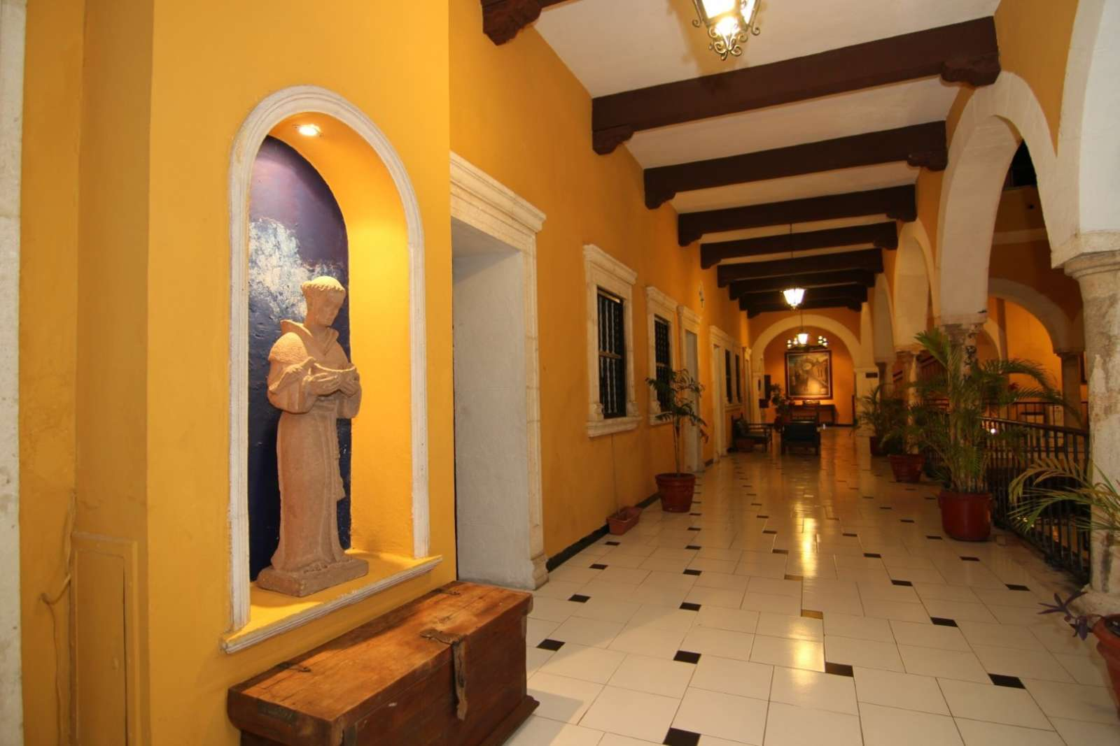 Corridor at Hotel Caribe Merida