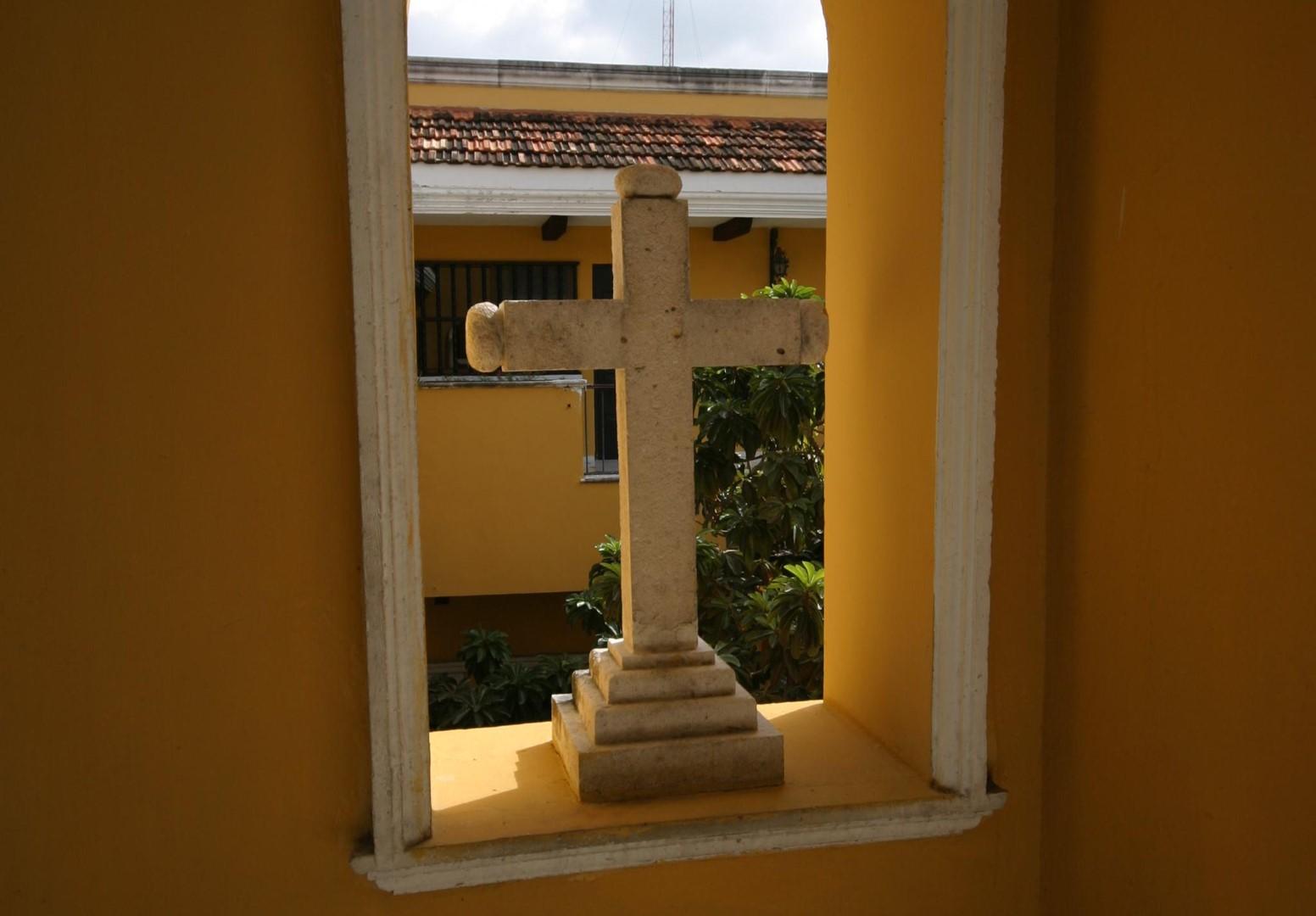 Cross at Hotel Caribe Merida