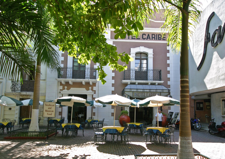Entrance to Hotel Caribe Merida