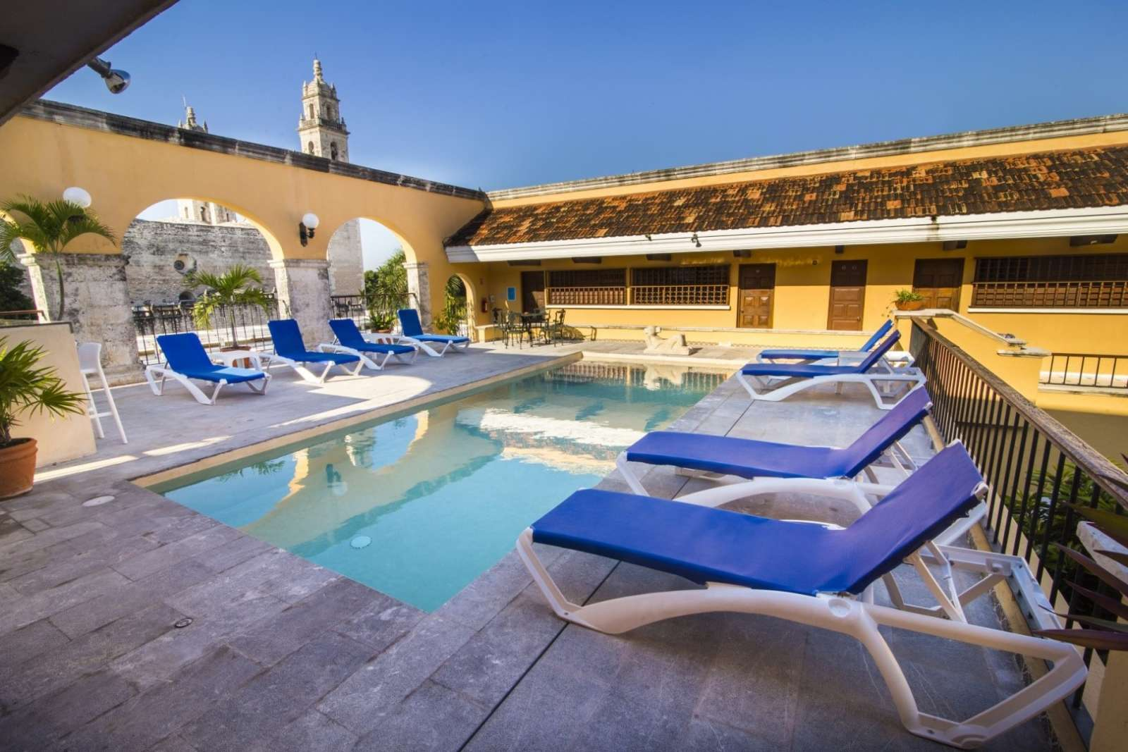 Pool at Hotel Caribe Merida