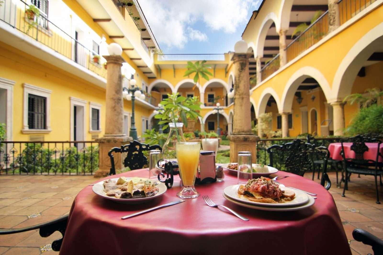 Meal at Hotel Caribe Merida