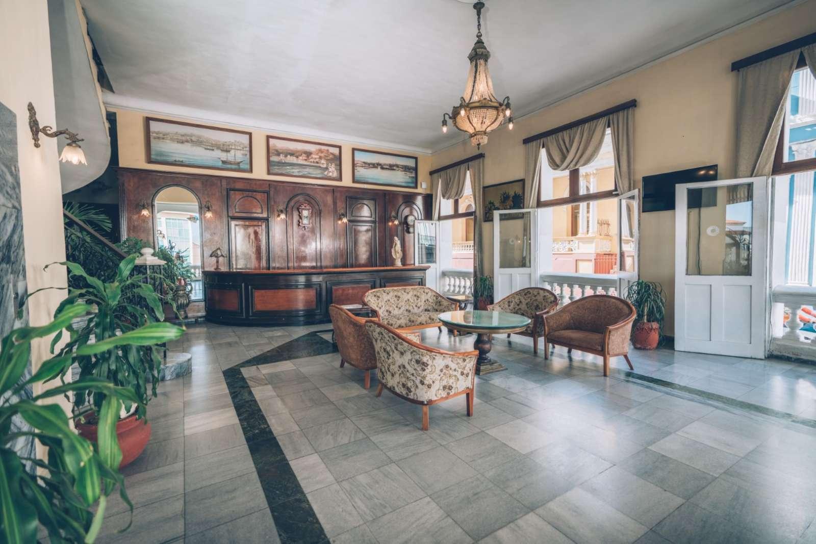 Lobby of Iberostar Casa Granda