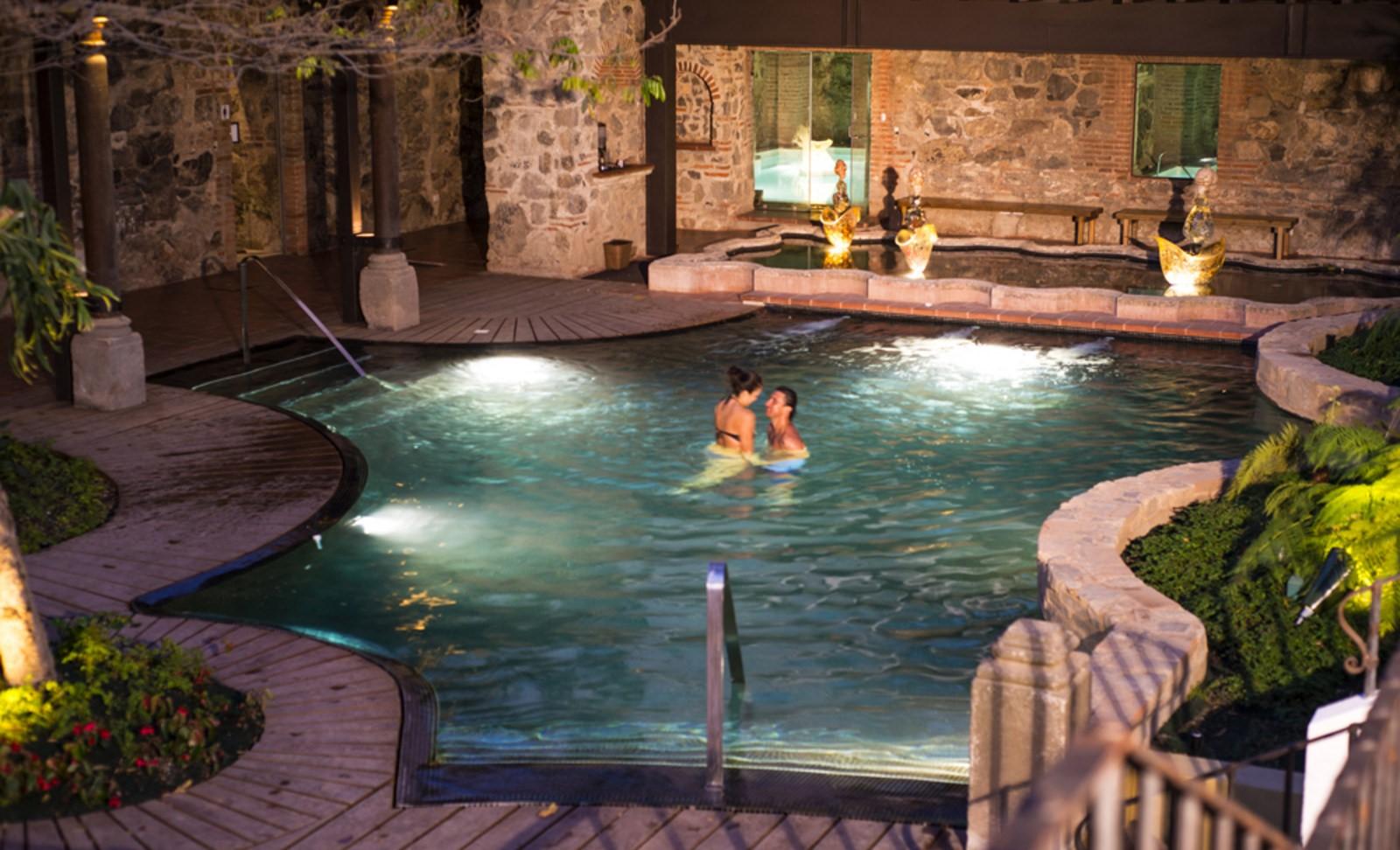 Pool at Hotel Casa Santo Domingo in Antigua