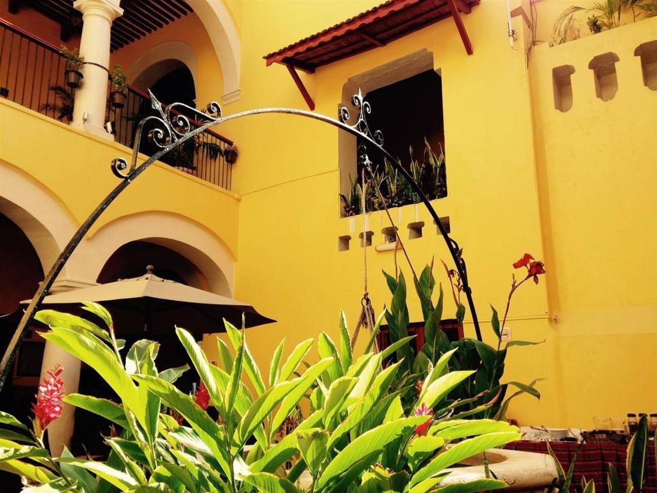 Hotel Castelmar Campeche Yellow Wall