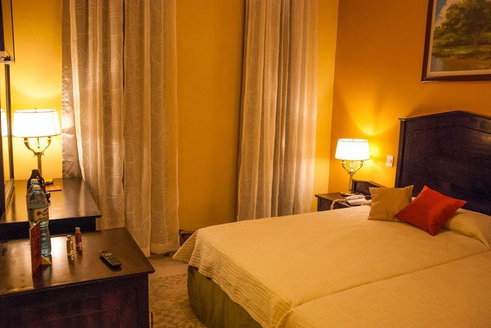 Bedroom at Hotel Central in Santa Clara