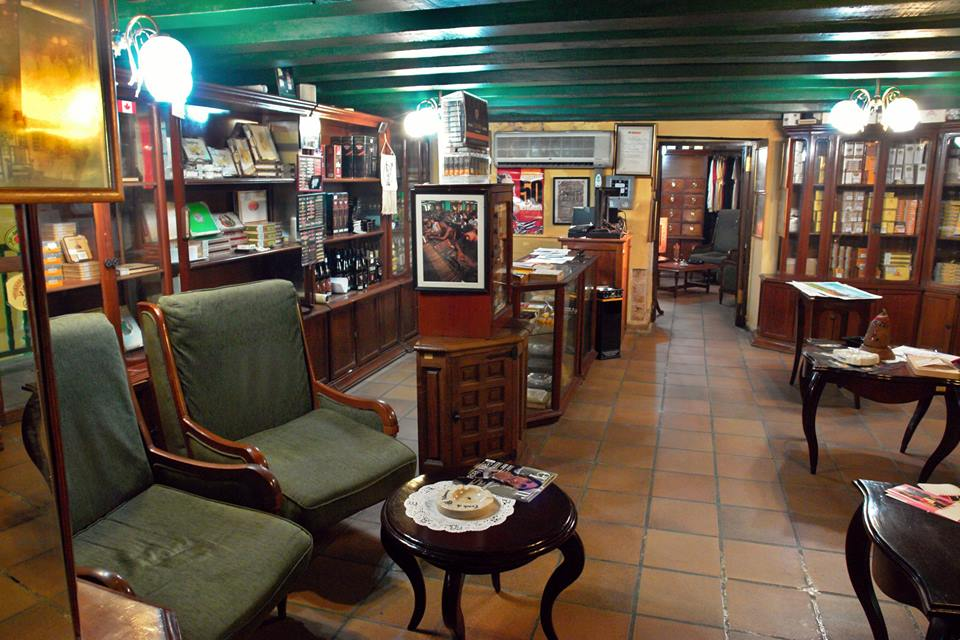 Habano cigar shop at the Hotel Conde de Villanueva in Havana, Cuba