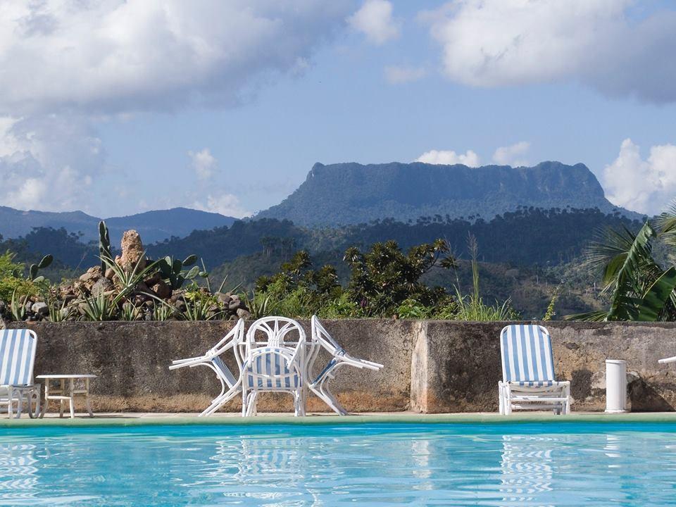 View of El Yunque from Hotel El Castillo