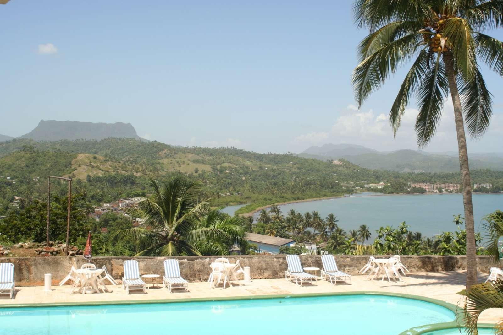 View over Baracoa bay from Hotel El Castillo