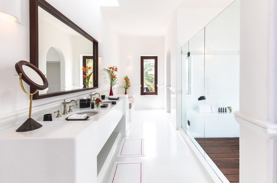 Bathroom at Hotel Esencia