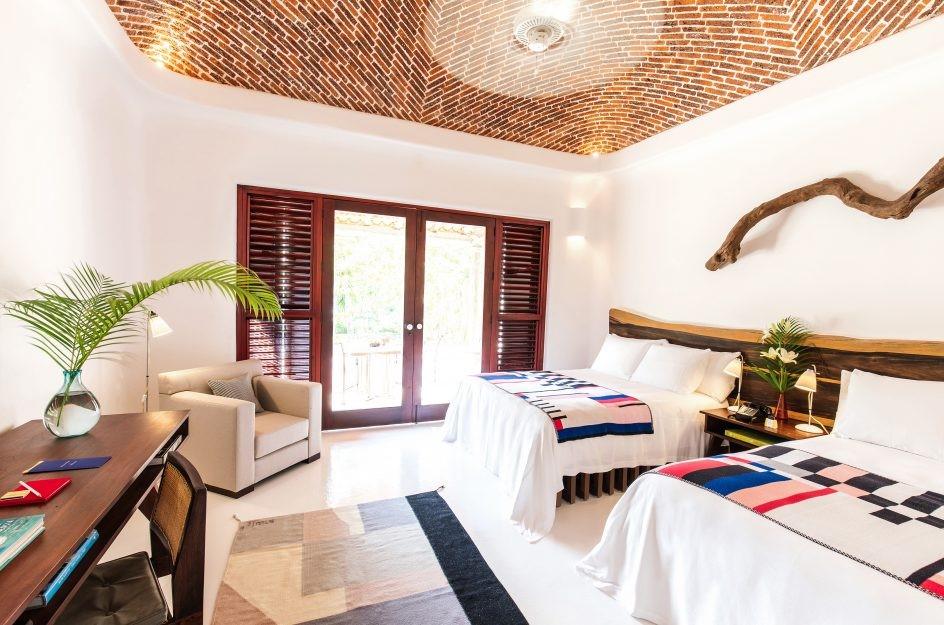 Twin room at Hotel Esencia